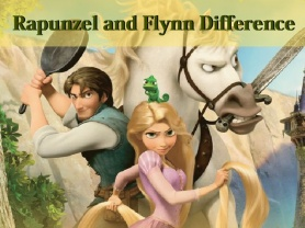 Rapunzel and Flynn Differences